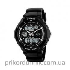 Часы Skmei 0931 черные со стрелками