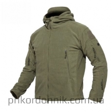 Флисовая куртка Pawe Hawk, олива
