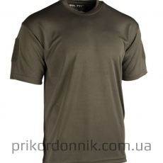 Потоотводящая футболка TACTICAL T-SHIRT QUICKDRY OLIV