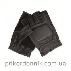 Кожаные перчатки SEC FINGERLINGE LEDER SCHWARZ