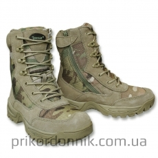 Берцы на молнии TACTICAL BOOT M.YKK ZIPPER MULTICAM®