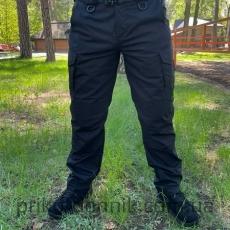 Тактические брюки черные,