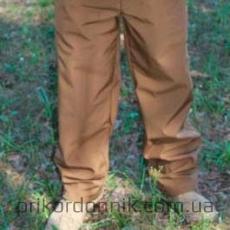 Тактические брюки Soft Shell софтшелл койот