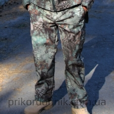 Тактические брюки Soft Shell КРИПТЕК MANDRA WOOD