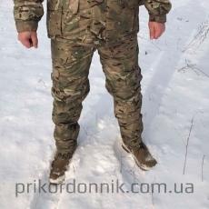 Зимние брюки на флисе Мультикам