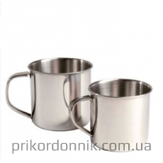 Кружка стальная TRINKBECHER STAINLESS STEEL 500 ML