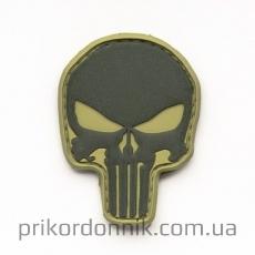 ПВХ шеврон Punisher (Каратель) хаки