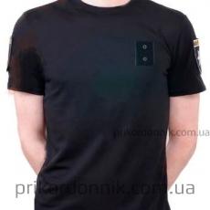 Потоотводящая футболка черная (Coolmax) для Полиции