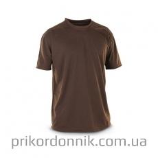 Потоотводящая футболка коричневая, Coolmax- Фото№2