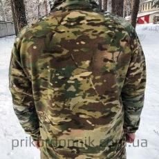 Флисовая тактическая кофта куртка Мультикам- Фото№3