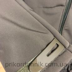 Куртка Softshell олива зимняя- Фото№4