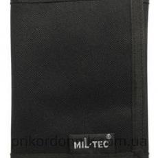 Бумажник мил-тек черный