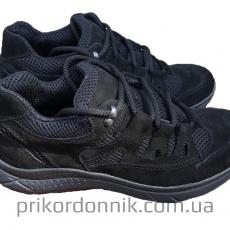 Тактические кроссовки Рейнджер черные замш, сетка