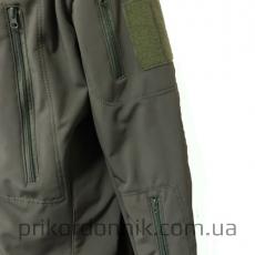 Куртка Softshell олива зимняя- Фото№7