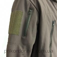 Куртка Softshell олива зимняя- Фото№6