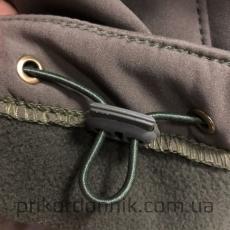 Куртка Softshell олива зимняя- Фото№5