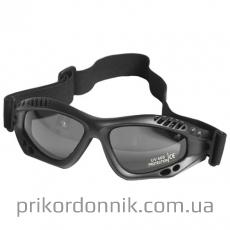 Очки десантные черные COMMANDO BRILLE AIR PRO SMOK