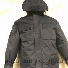 Зимний костюм Горка на синтепоне, черная
