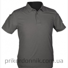 Футболка URBAN GREY TACTICAL POLO SHIRT QUICKDRY серая