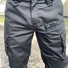 """Тактические брюки черные, """"Штурм""""- Фото№3"""