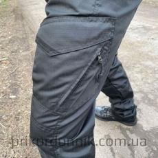 """Тактические брюки черные, """"Штурм""""- Фото№5"""