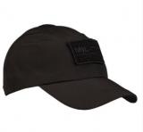 Бейсболка софтшелл BLACK BASEBALL CAP