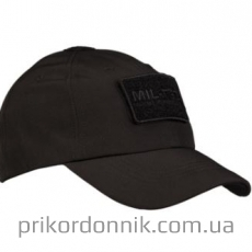 Бейсболка софтшелл черная SOFTSHELL BASEBALL CAP