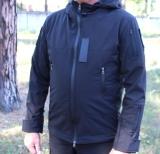Куртка Softshell черная Police