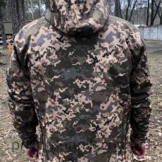 Куртка Softshell пиксель ВСУ- Фото№2