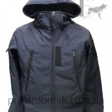 Куртка Softshell темно-синяя