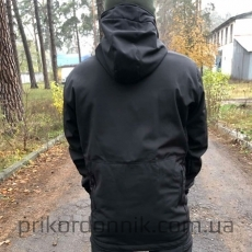 Костюм зимний Soft Shell черный- Фото№2