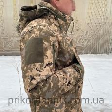 Куртка Softshell пиксель ВСУ Тактика- Фото№4