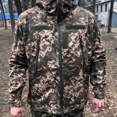 Куртка Softshell пиксель ВСУ
