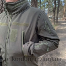 "Куртка Softshell олива ""Тактик""- Фото№6"