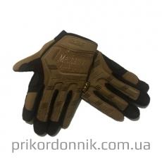 Тактические перчатки MECHANIX полнопалые, койот