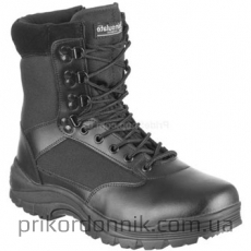 Ботинки TACTICAL BOOT M.YKK ZIPPER SCHWARZ