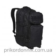 Рюкзак US ASSAULT PACK SM LASER CUT BLACK черный 20л