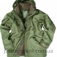 Куртка непромокаемая с флисовой подстежкой IL-TEC  JACKE NÄSSESCHUTZ M.FLEECEJA.OLIV.