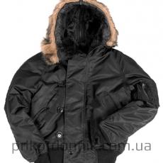 Куртка зимняя лётная N2B Аляска черная Sturm Mil-tec
