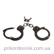 Наручники HAND CUFFS SINGLE LOCK SCHWARZ O.GEW.
