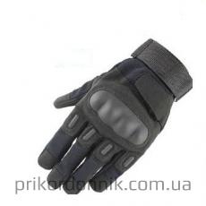 Тактические перчатки OAKLEY полнопалые черные