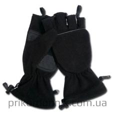 Перчатки-варежки MIL-TEC из флиса черные