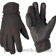 Перчатки зимние черные OD SOFTSHELL GLOVES THINSULATE™
