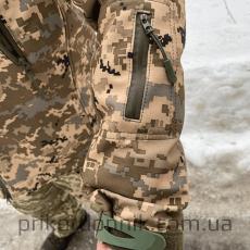 Куртка Softshell пиксель ВСУ Тактика- Фото№6