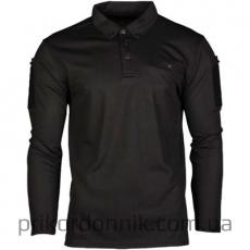тактическая рубашка POLO TACTIQUE QUICK DRY MANCHES LONGUES NOIR