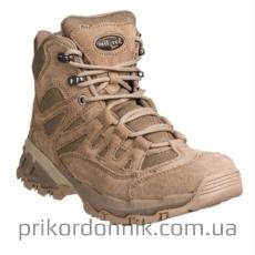 Армейские ботинки Mil-Tec Tactical Squad Stiefel 5 Inch Coyote