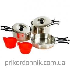MIL-TEC Набор посуды, нержавеющая сталь