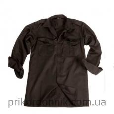 Рубашка форменная DIENSTHEMD 1/1 ARM T/C SCHWARZ