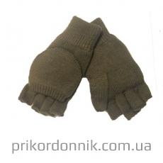 Перчатки c рукавичкой Mil-Tec олива