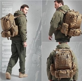 Рюкзак тактический койот 46 л с подсумками